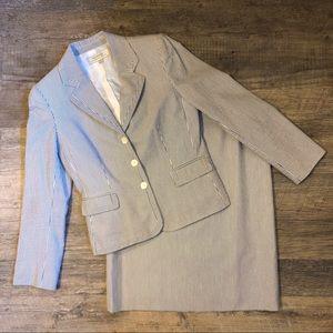 NWT Tahari Arthur S. Levine Skirt Suit, 8